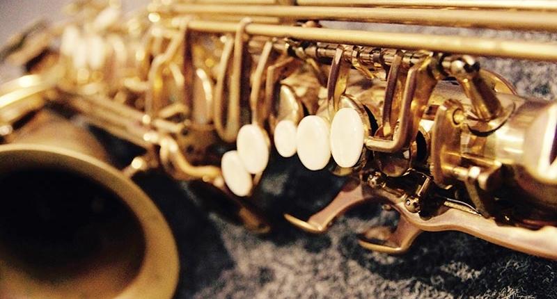 Saxophon und Klarinette